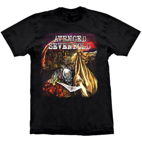 Camiseta - Avenged Sevenfold - City of Evil