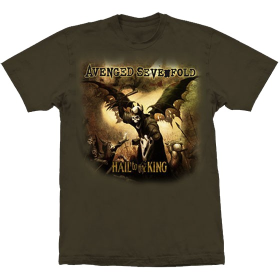 Camiseta - Avenged Sevenfold - Hail To The King
