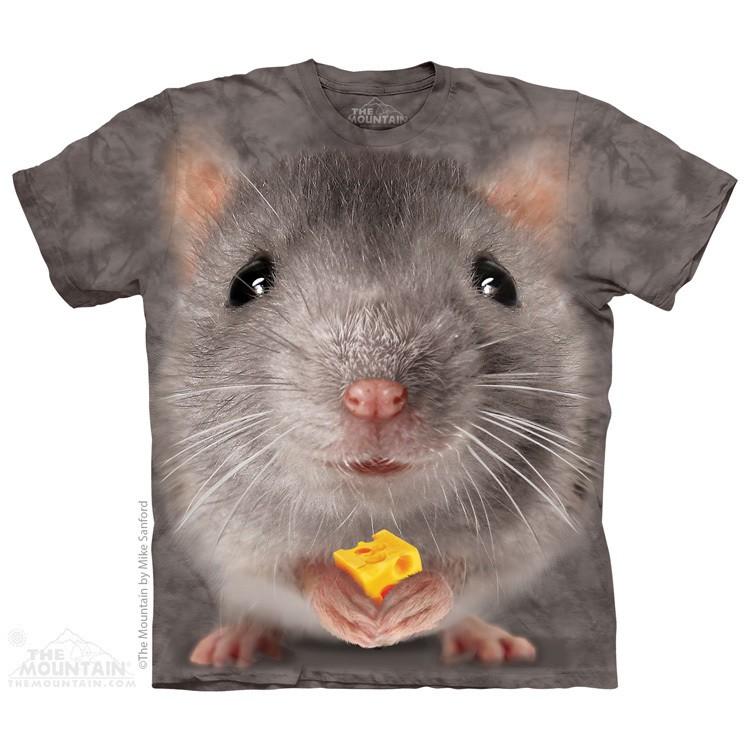 Camiseta - The Mountain - Big Face Grey Mouse