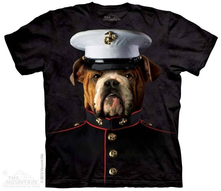 Camiseta - The Mountain - Bulldog Marine