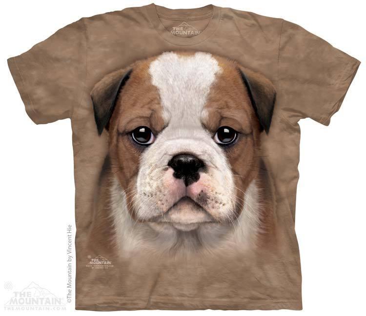 Camiseta - The Mountain - Bulldog Puppy