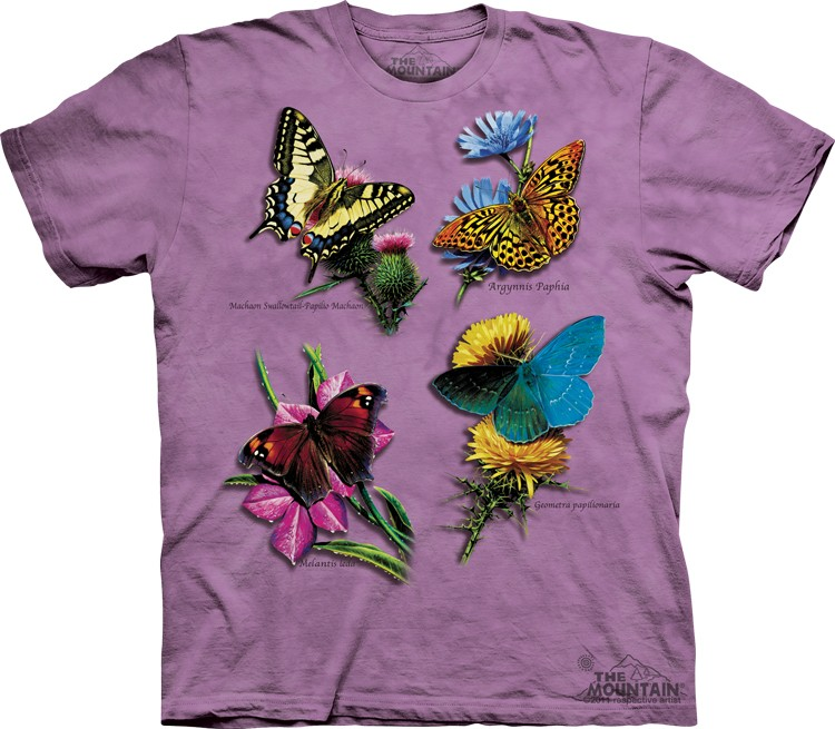 Camiseta - The Mountain - Butterfly Study