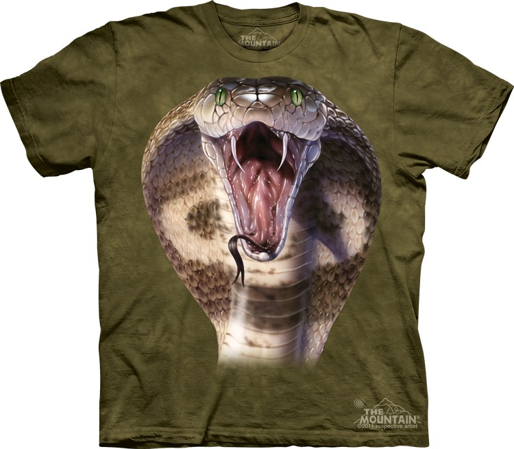 Camiseta - The Mountain - Cobra
