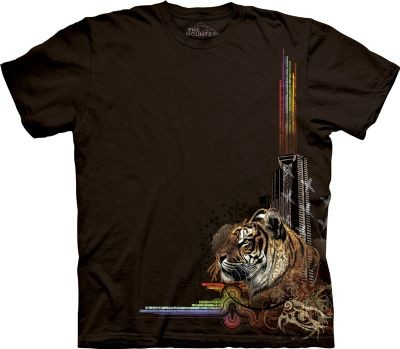Camiseta - The Mountain - Disco Tiger