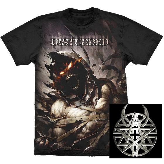 Camiseta - Disturbed - Asylum