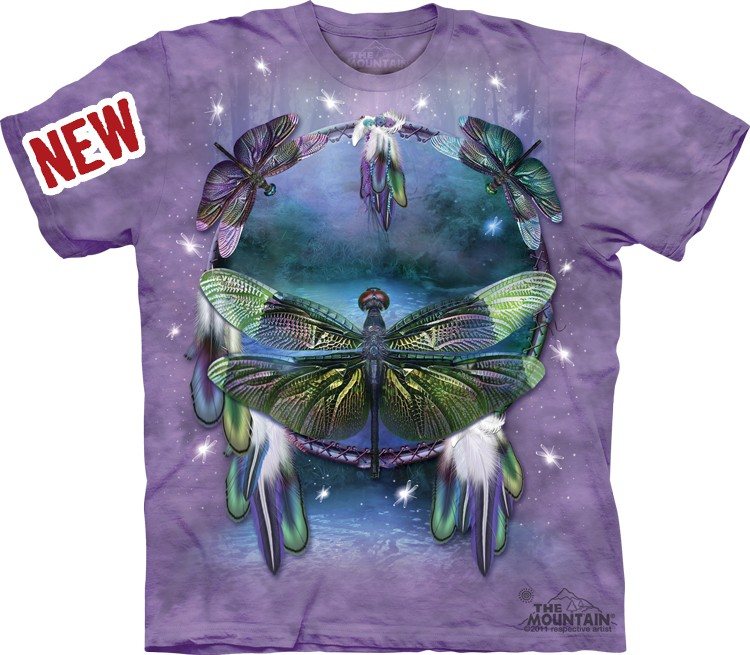 Camiseta - The Mountain - Dragonfly Dreamcatcher