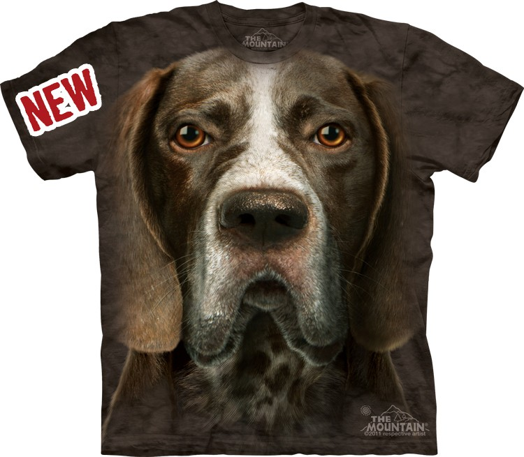 Camiseta - The Mountain - German Shorthaired Pointer Head