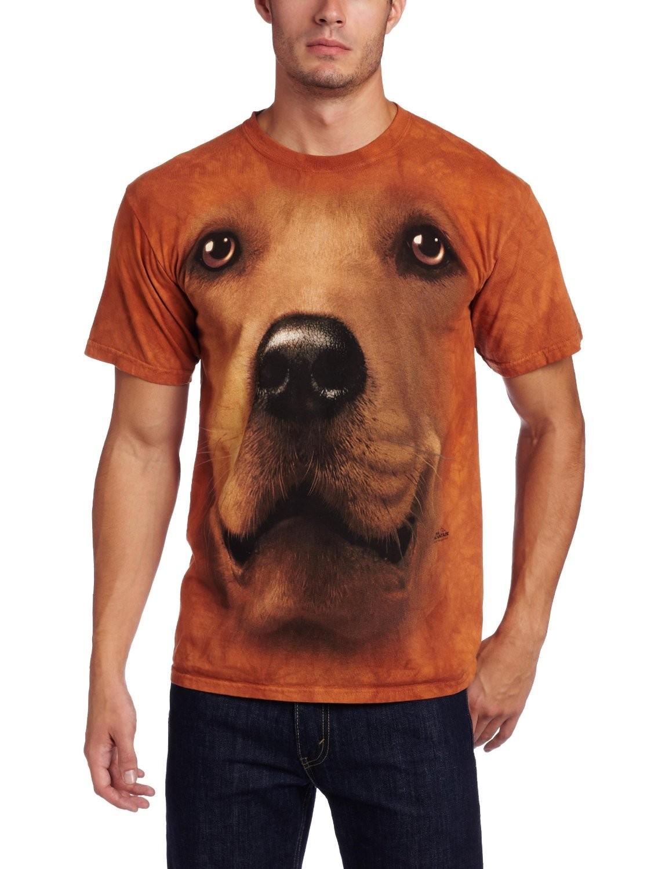 Camiseta - The Mountain - Golden Retriever Face