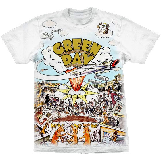 Camiseta - Green Day - Dookie