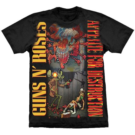 Camiseta - Guns N' Roses - Appetite for Destruction