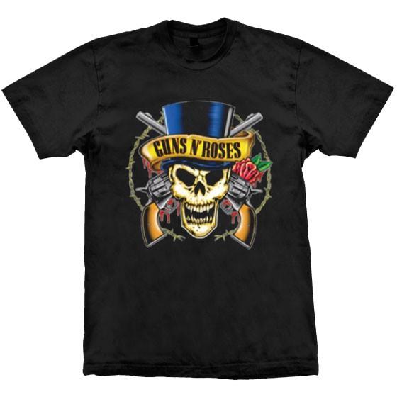 Camiseta - Guns N' Roses - Skull Top Hat