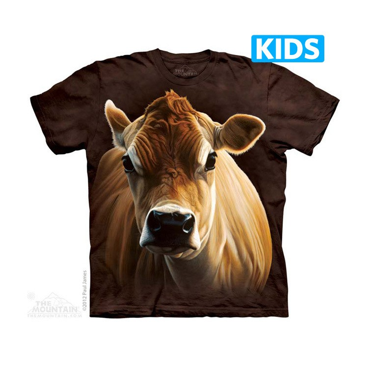 Camiseta - The Mountain - How Now Brown Cow (infantil)