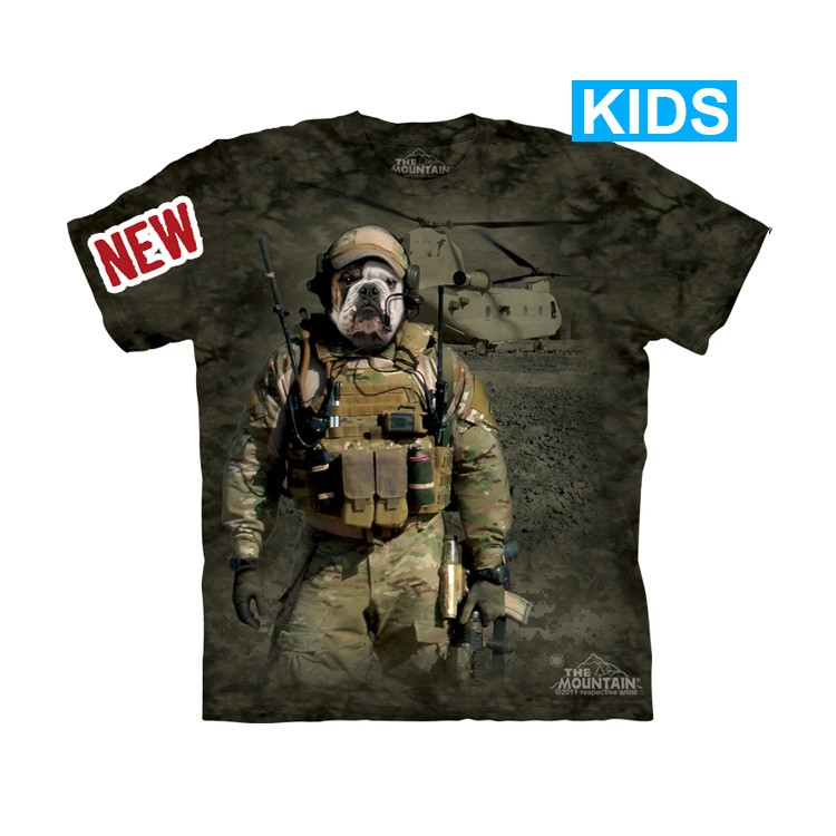 Camiseta - The Mountain - JTAC Wardog (infantil)