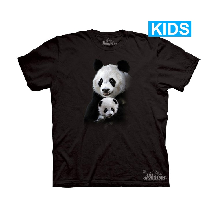 Camiseta - The Mountain - Panda Cuddle (infantil)