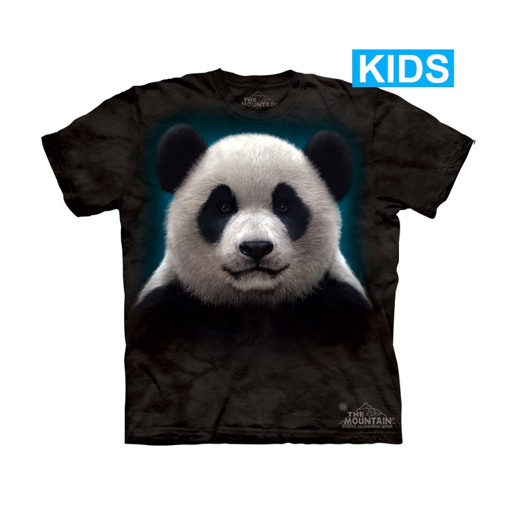 Camiseta - The Mountain - Panda Head (infantil)