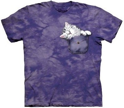 Camiseta - The Mountain - Pocket Kitten