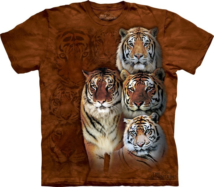 Camiseta - The Mountain - Siberian & Bengal