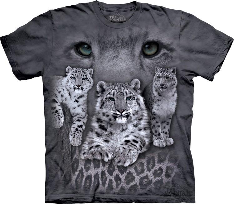 Camiseta - The Mountain - Snow Leopards