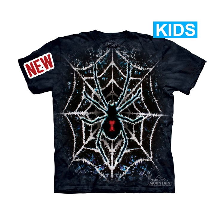 Camiseta - The Mountain - Tie Dye Spider (infantil)