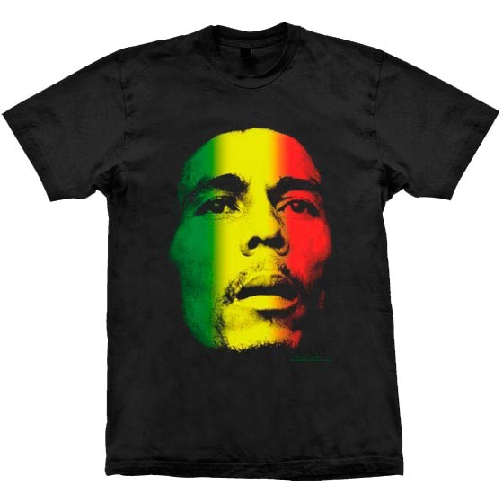 Camiseta - Bob Marley - Face