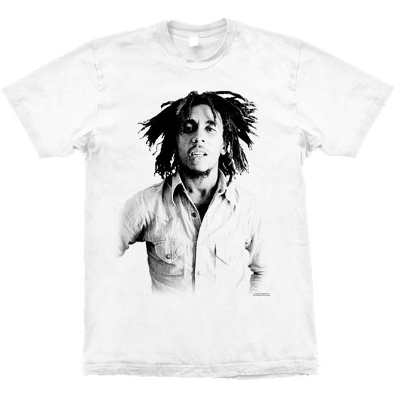 Camiseta - Bob Marley - Sepia