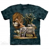 Camiseta - The Mountain - Africa Collage