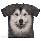 Camiseta - The Mountain - Alaskan Malamute Face