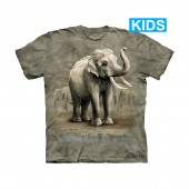 Camiseta - The Mountain - Asian Elephants (infantil)