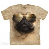 Camiseta - The Mountain - Aviator Pug