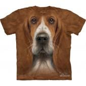 Camiseta - The Mountain - Basset Hound Head