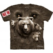 Camiseta - The Mountain - Bear Eyes