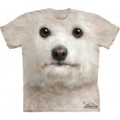 Camiseta - The Mountain - Bichon Frise Face