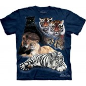 Camiseta - The Mountain - Big Cat Collage