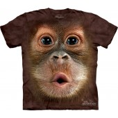 Camiseta - The Mountain - Big Face Baby Orangutan
