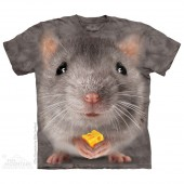 Camiseta - The Mountain - Big Face Grey Mouse