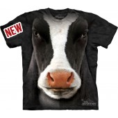 Camiseta - The Mountain - Black Cow Face