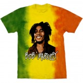 Camiseta - Bob Marley - Rasta Colors
