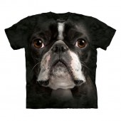 Camiseta - The Mountain - Boston Terrier Face