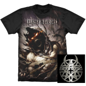 Camiseta - Disturbed - Asylum