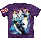 Camiseta - The Mountain - Emperor Penguins