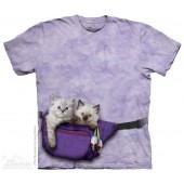 Camiseta - The Mountain - Fanny Pack Kittens