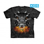 Camiseta - The Mountain - Fire Eyes (infantil)