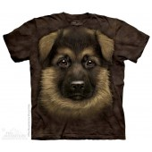 Camiseta - The Mountain - German Shepherd Puppy