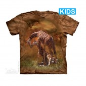 Camiseta - The Mountain - Giraffe Sunset (infantil)