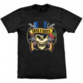 Camiseta - Guns N' Roses - Skull Top Hat