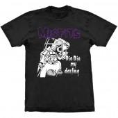 Camiseta - Misfits - Die, Die My Darling