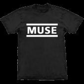 Camiseta - Muse - Logo
