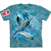 Camiseta - The Mountain - Narwhals