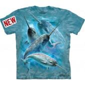 Camiseta - The Mountain - Narwhals
