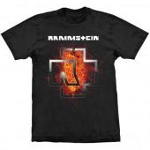 Camiseta - Rammstein - Lava Logo